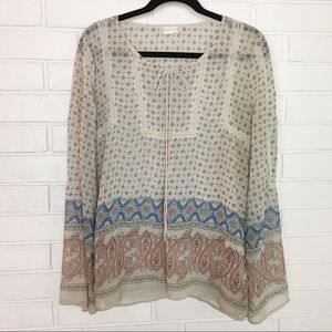 Alter'd State Peasant Boho Large Blouse